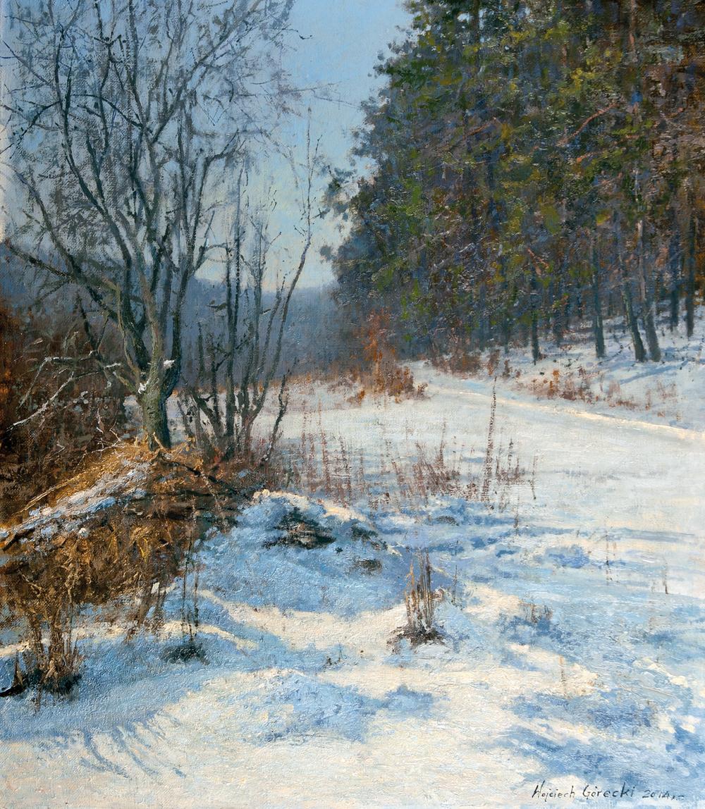 Wojciech Górecki, Wojtek Górecki malarz, pejzaż, plener, malarstwo, górecki wojciech obrazy