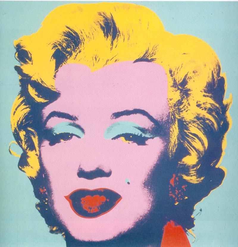 "Andy Warhol, ""Portret Marylin Monroe"", 1964"