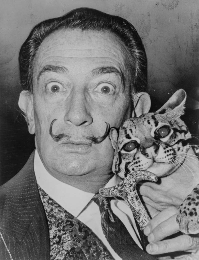 Salvador Dali, 1956
