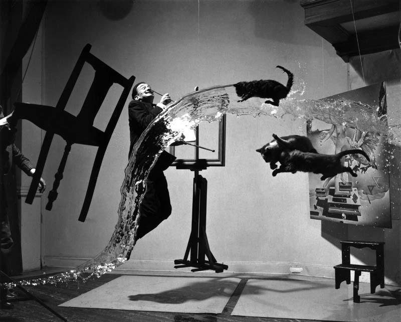 "Philippe Halsman, ""Dali Atomicus"", 1948"
