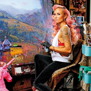Natalia Fabia, malarka, malarstwo olejne, obraz olejny