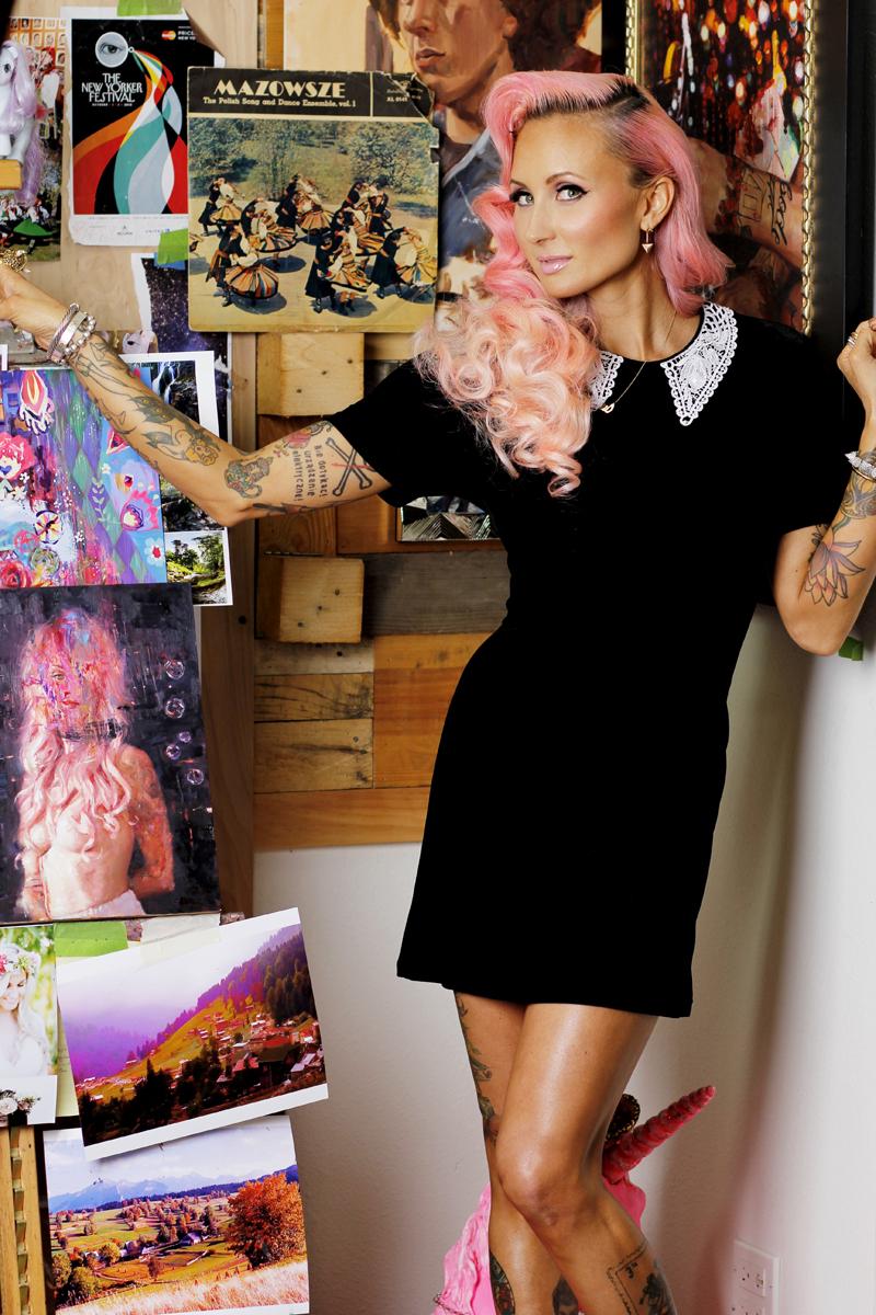 Natalia Fabia artist Natalia Fabia, malarka, malarstwo olejne, obraz olejny