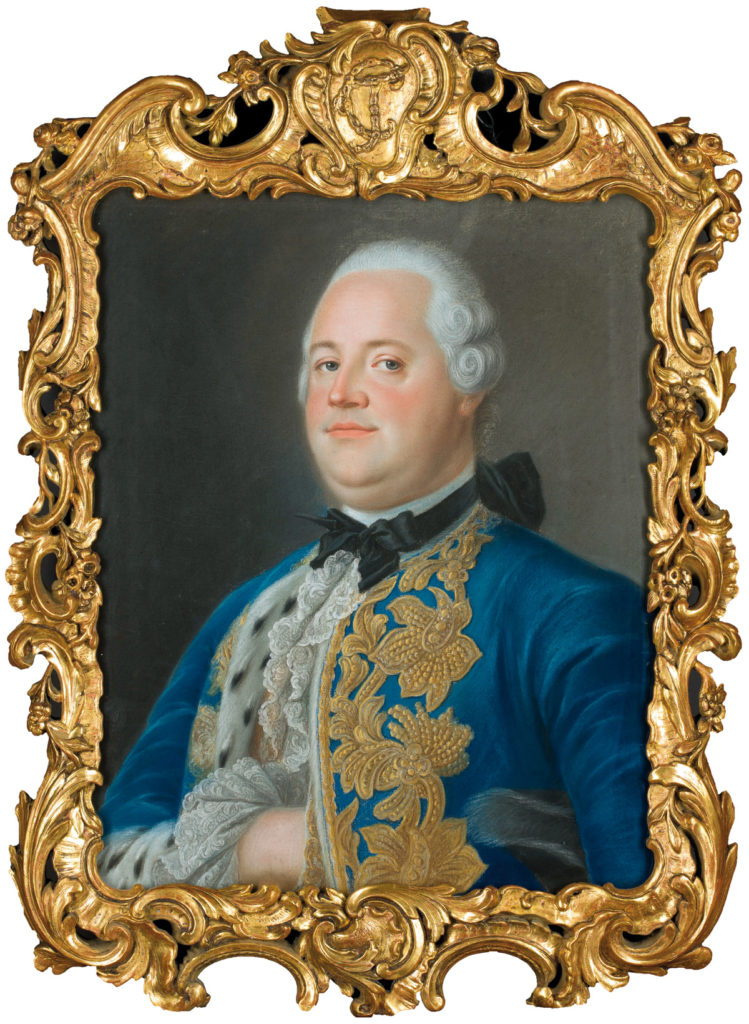 183846; Mengs, Anton Raphael (1728-1779) (rysownik); Portret Tom