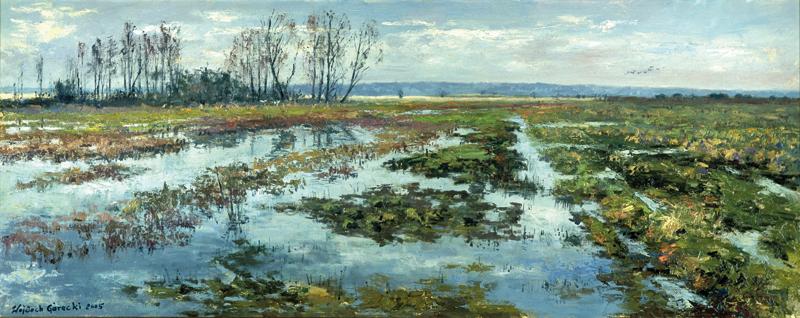 Wojciech Górecki, wojtek górecki, górecki malarz, pejzaż, plener, obrazy olejne, obrazy w plenerze, pejzaż zimowy, obrazy góreckiego,