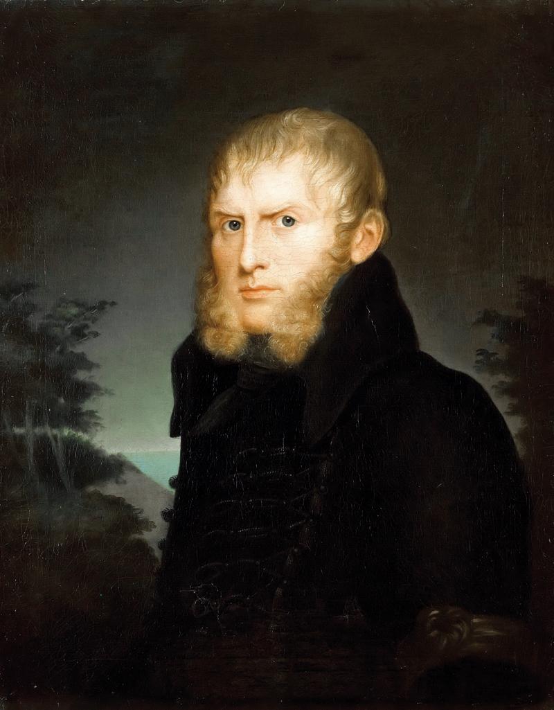 Albert Freyberg, Caspar David Friedrich, malarstwo romantyczne, malarz niemiecki, malarstwo
