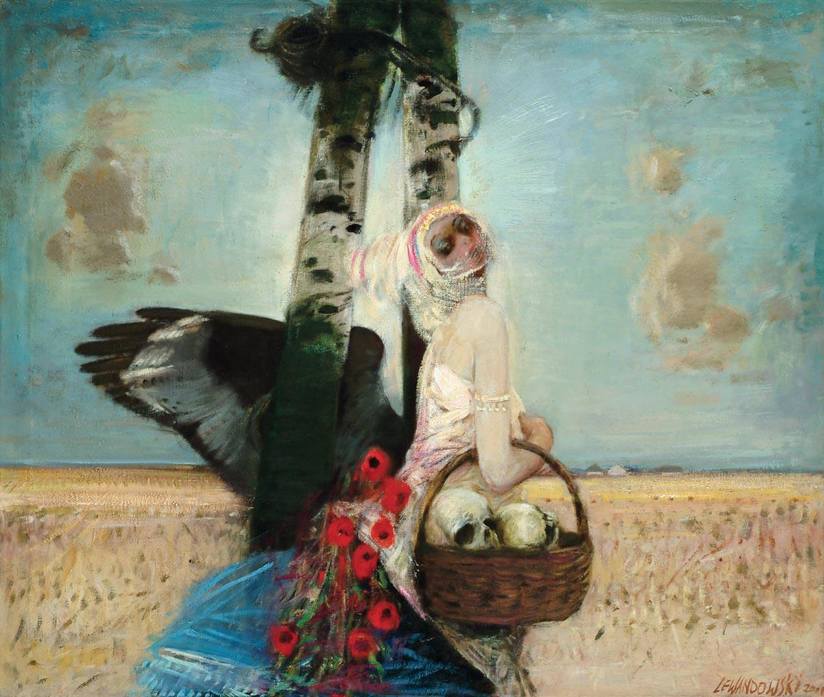 Janusz Lewandowski, obrazy, malarstwo, artysta i sztuka