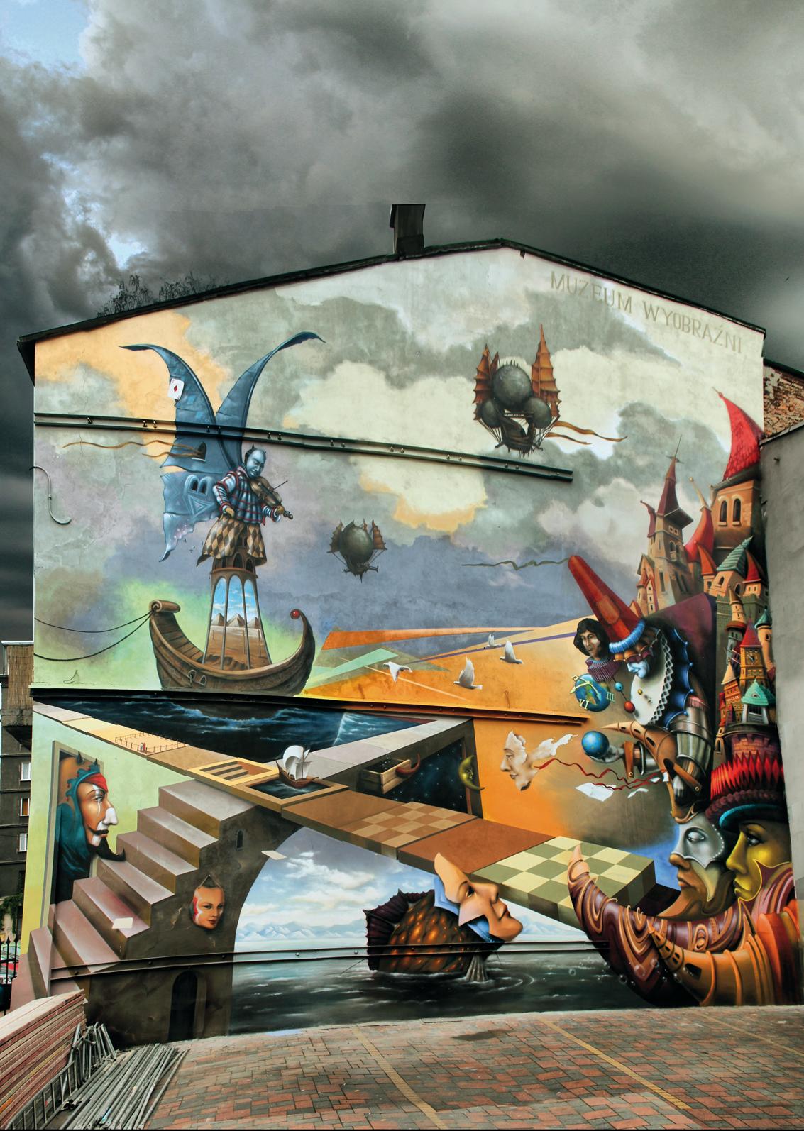 Mural Szymanowskiego Street art