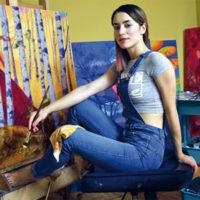 Natalia Rak Artysta i Sztuka street art mural