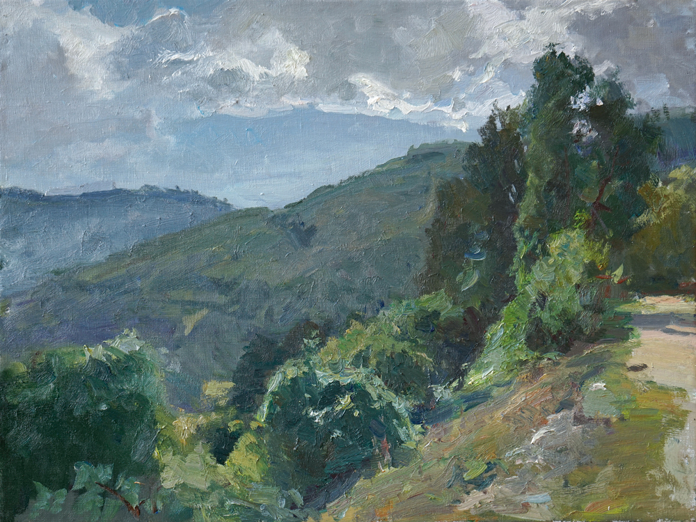 Kirill Datsouk malarstwo, olej na płótnie