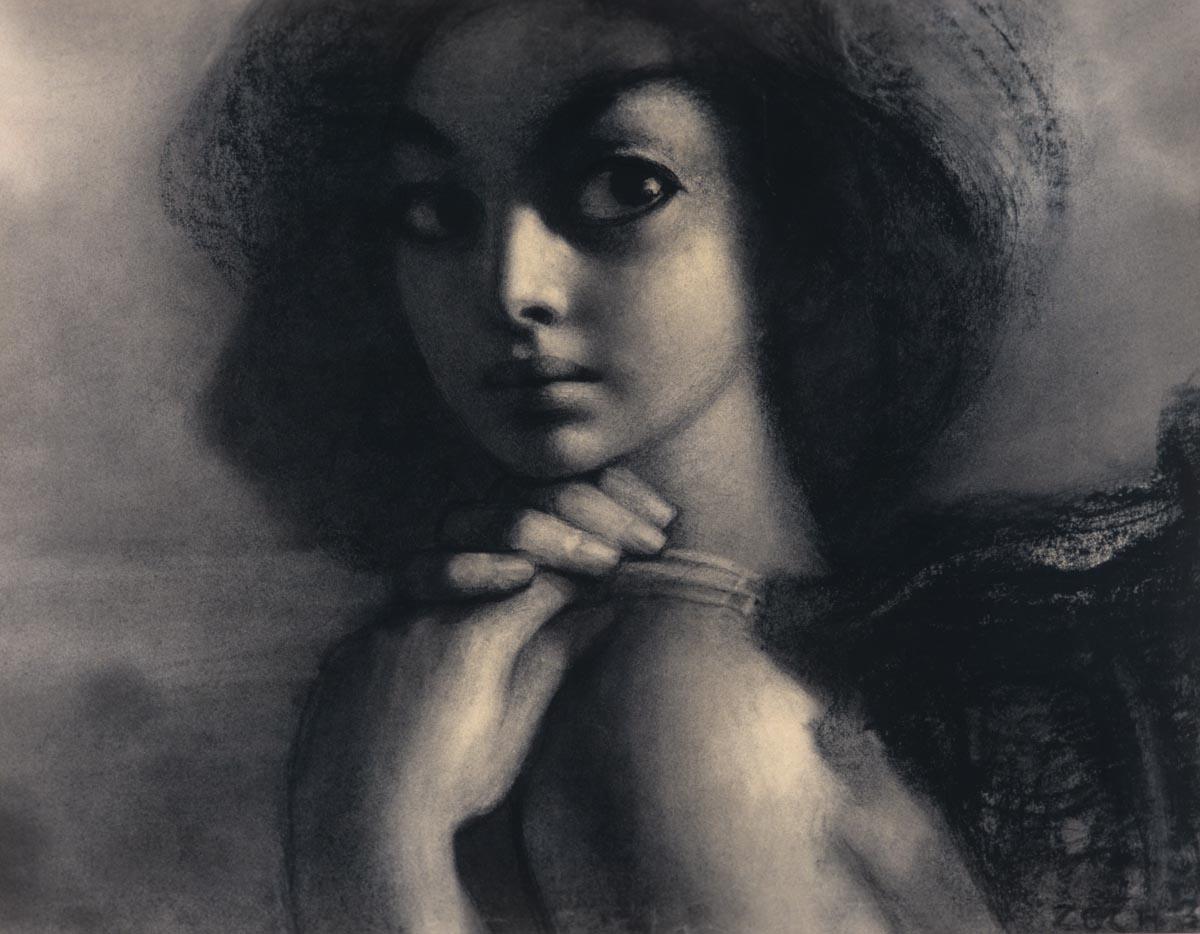 Stefan Żechowski obrazy, rysunek, artysta i sztuka
