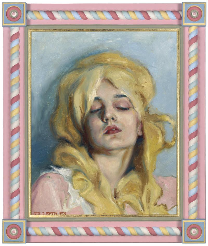 Teresa Oaxaca, wiktorian, obrazy olejne, malarka, okres wiktoriański, malarstwo olejne, portret