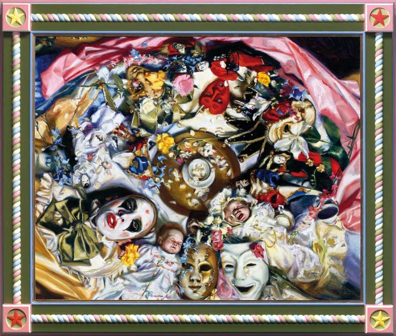 Teresa Oaxaca, wiktorian, obrazy olejne, malarka, okres wiktoriański, malarstwo olejne