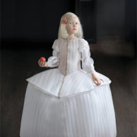 Suzanne Jongmans, Prinses Eva, portret z pianką, fotografia