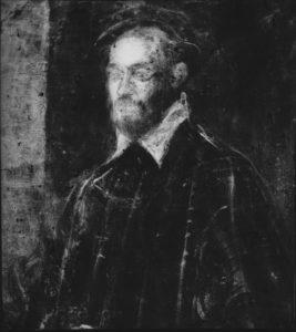 Jacopo Tintoretto, Portret weneckiego admirała; XVI w.; ©Copyright by Archiwum Fotograficzne/Muzeum Narodowe w Warszawie Rentgenogram