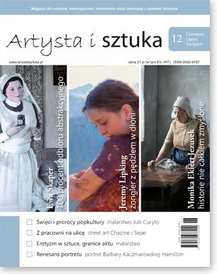 Artysta i Sztuka #12, malarstwo, rzeźba, grafika, street art, ilustracja, fotografia