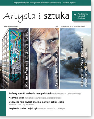 Artysta i Sztuka #7, malarstwo, rzeźba, grafika, street art, ilustracja, fotografia