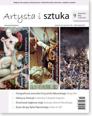 Artysta i Sztuka #9, malarstwo, rzeźba, grafika, street art, ilustracja, fotografia