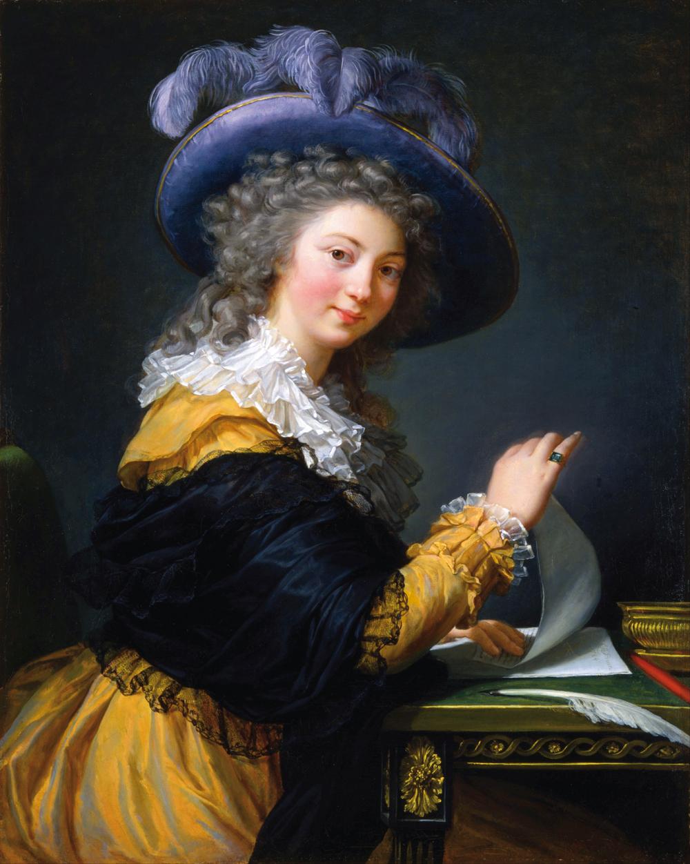 Élisabeth Vigée Le Brun, Autoportret, 1790, olej na płótnie, 102 x 81 cm, własność prywatna, materiały prasowe MNW