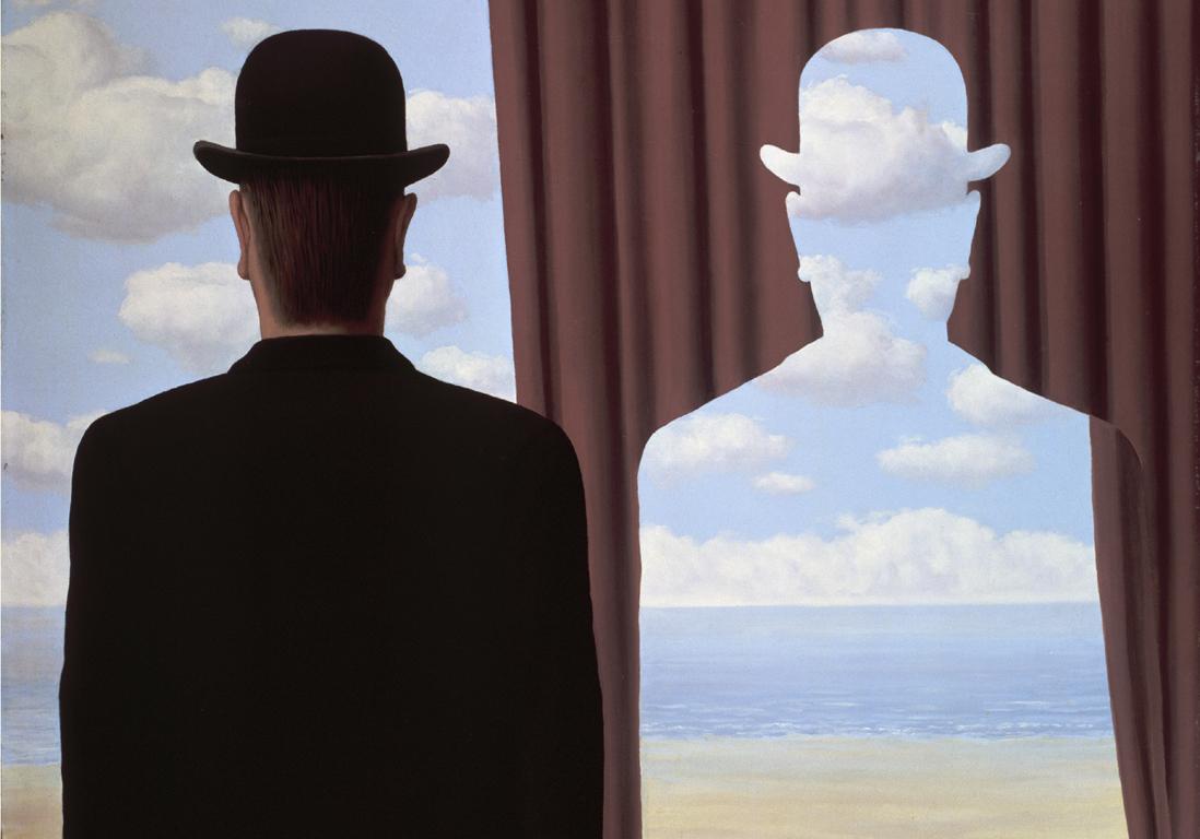 "Rene Magritte, ""Dekalkomania"", 1966"