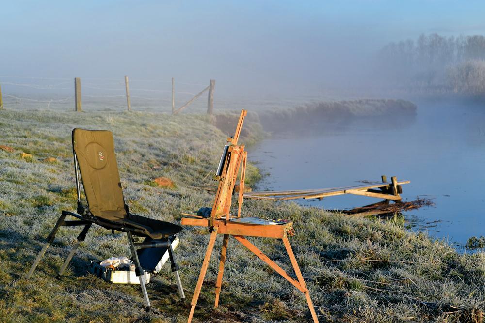Wojciech Górecki Wojtek Górecki malarz pejzaż plener malarstwo