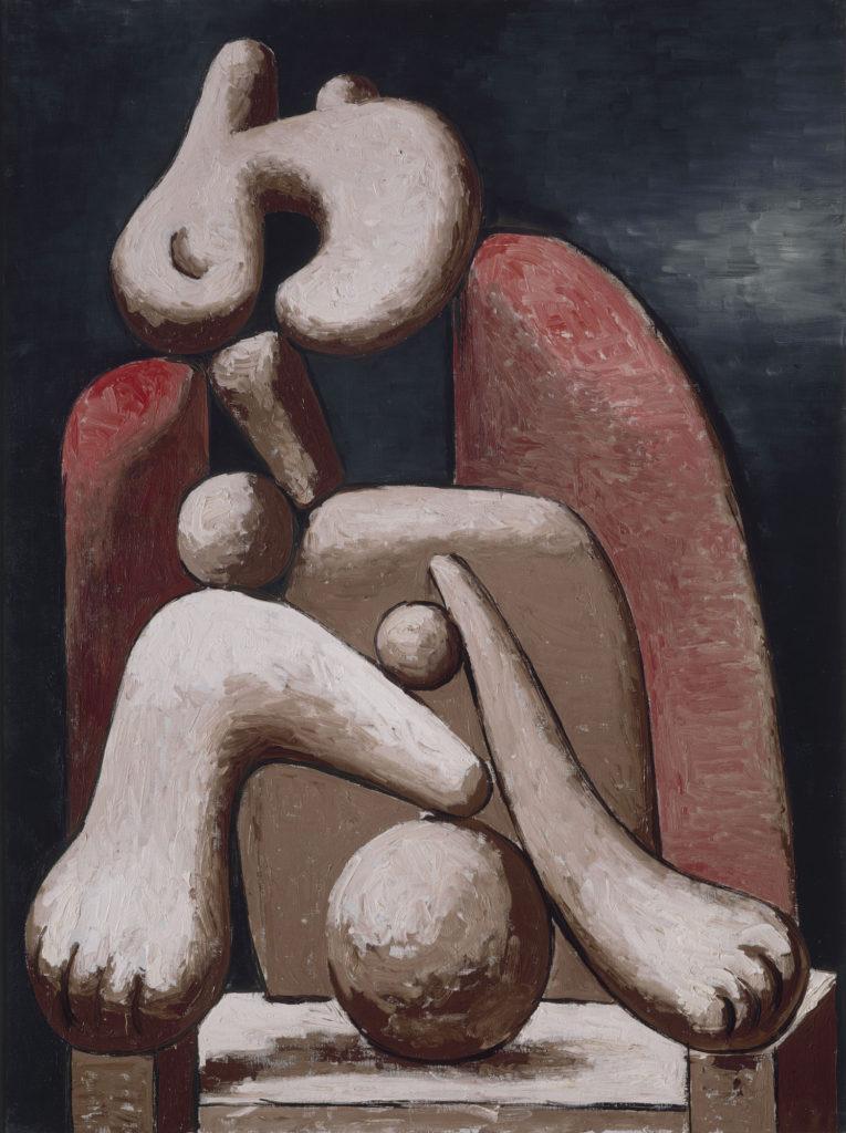 2. kobieta w krzesle picasso