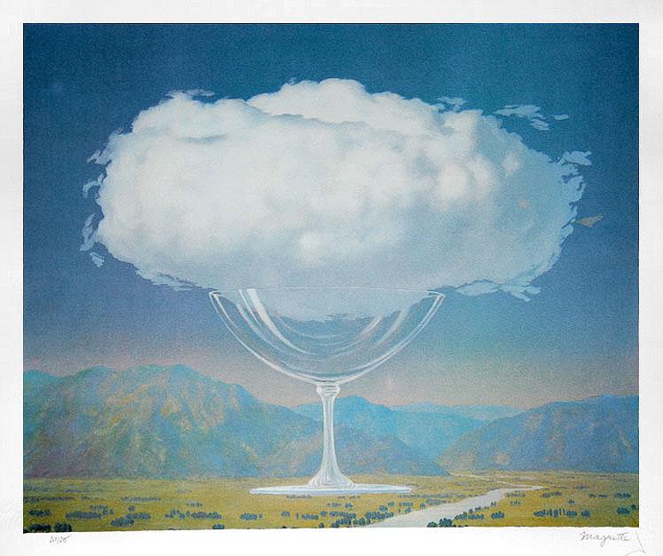 """Rene Magritte, """"La conde sensible"""", 1960, źródło: Christie's"""