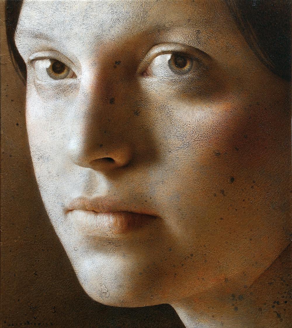Michał Łukasiewicz, malarstwo, realizm, arcadia fine art, malarz, portret, akt, nude