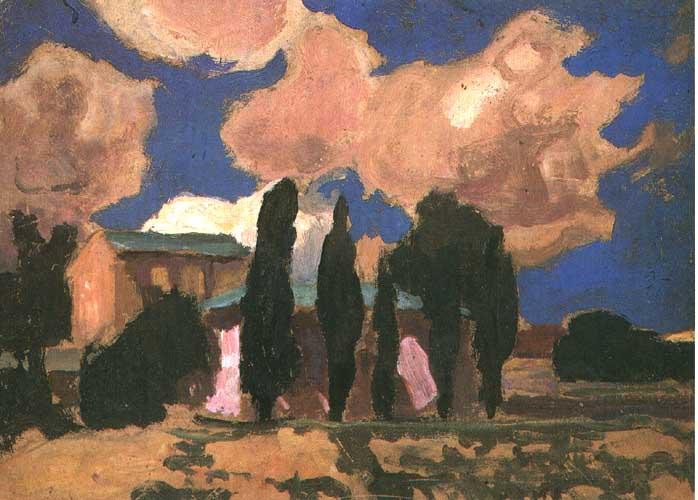 """Jan Stanisławski, """"Chmury"""", 1892, własność prywatna"""