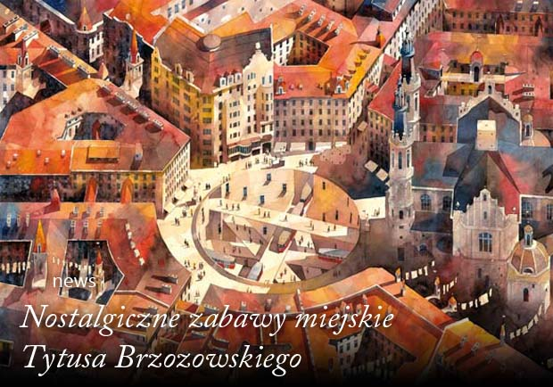Tytus Brzozowski akwarela
