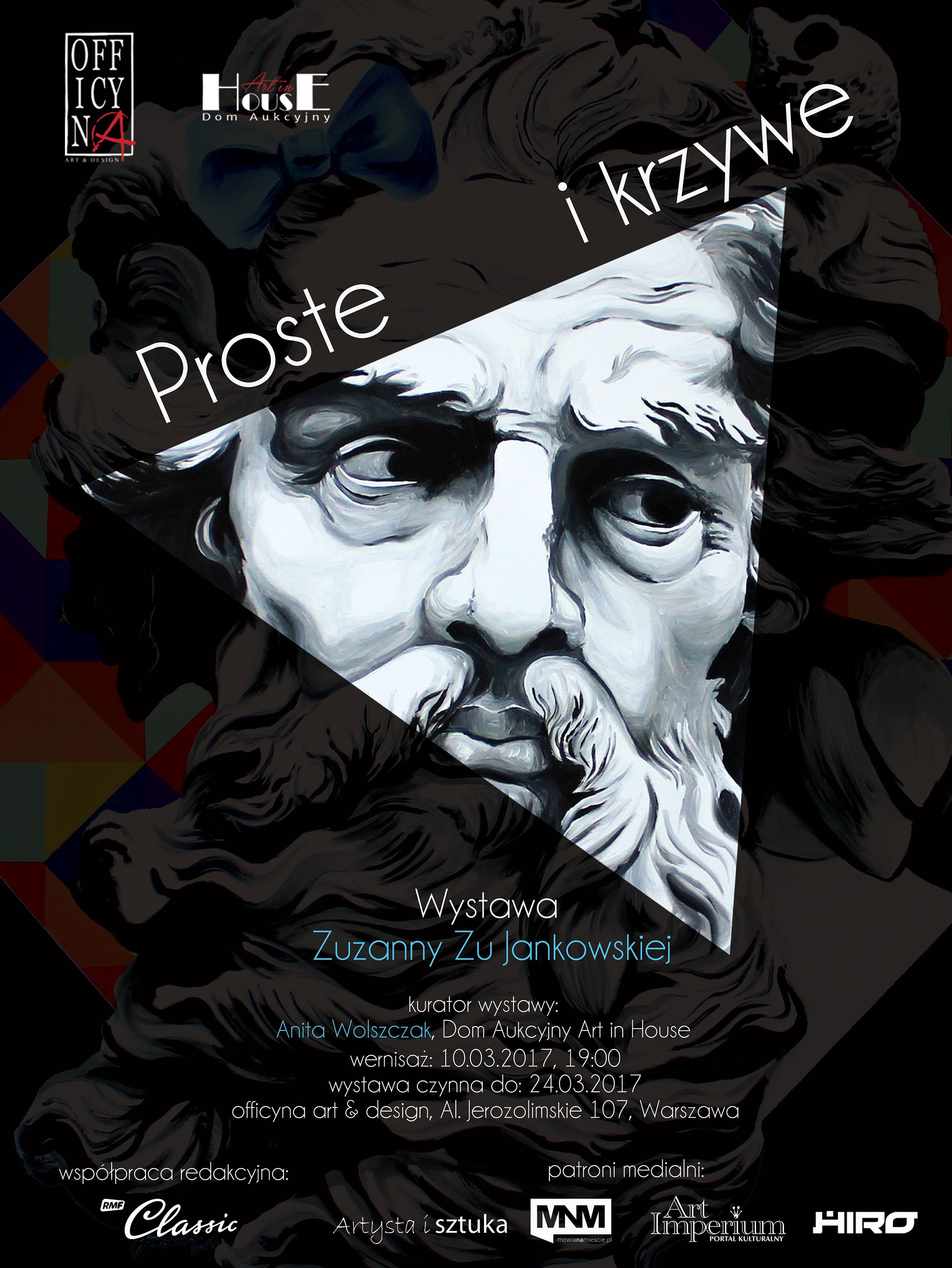 plakat-120x90 Proste i krzywe Jankowskiej