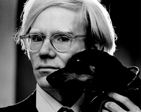Andy Warhol, fot. Jack Mitchell