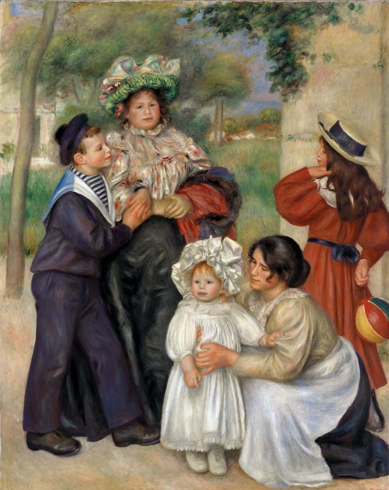 Pierre-Auguste Renoir, 1841–1919 Rodzina artysty