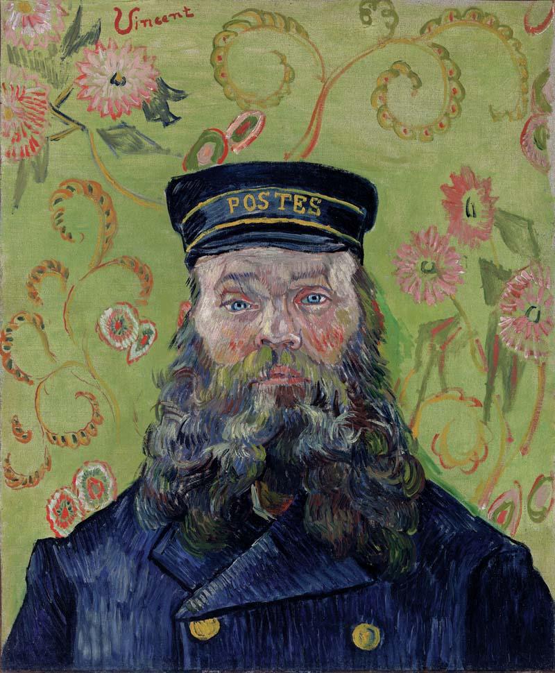 Vincent van Gogh, 1853–1890. Listonosz (Joseph-Étienne Roulin), 1889. Olej na płótnie, 25 7/8 x 21 3/4 (65.7 x 55.2 cm). BF37. Zdjęcie: © 2012 The Barnes Foundation