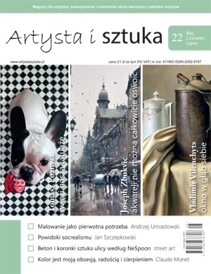 Artysta i Sztuka #22, malarstwo, rzeźba, grafika, street art, ilustracja, fotografia