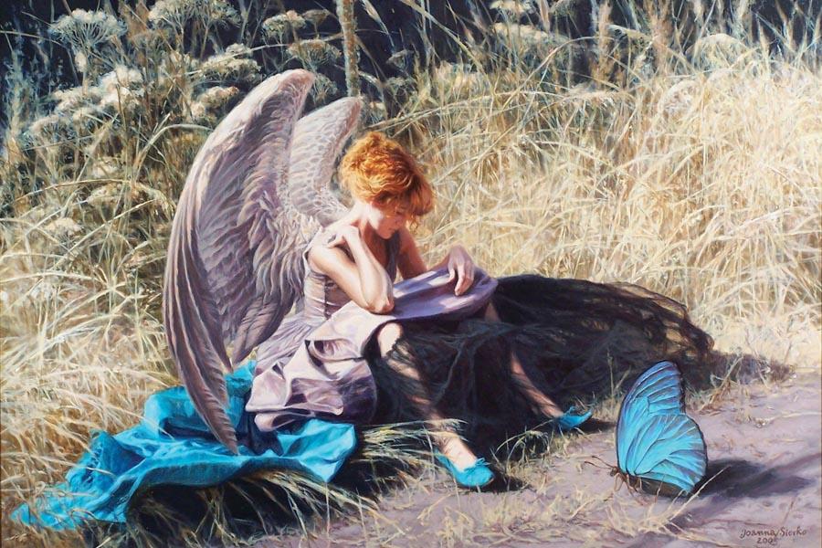Joanna Sierko-Filipowska, obrazy olejne, obrazy na płótnie, surrealizm, Sierko, malarstwo