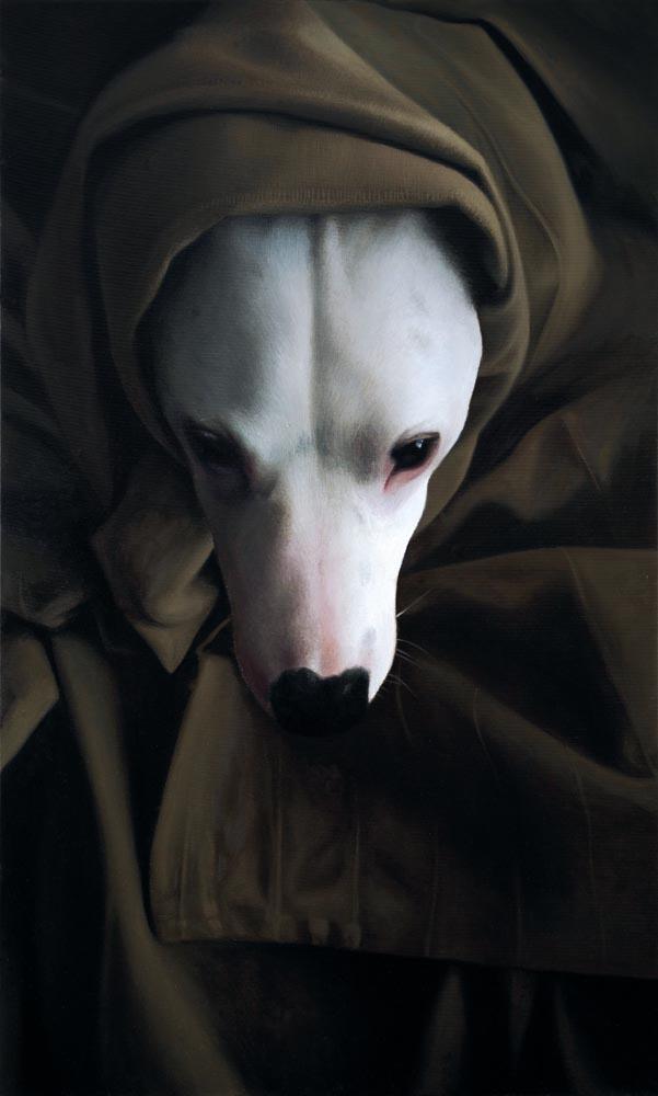 Tomasz Poznysz, Obi-Wan Kenobi, olej na płótnie, 150 x 90 cm, 2015