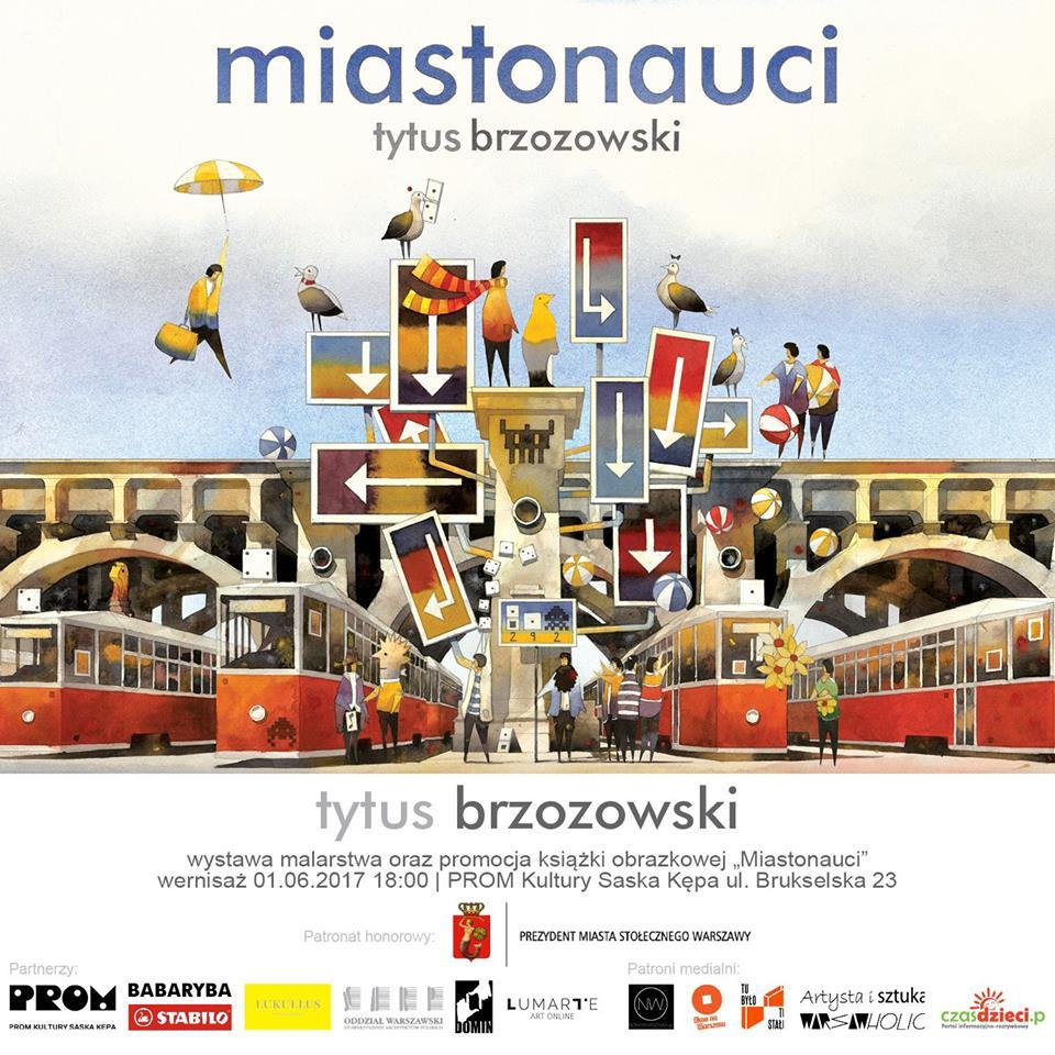 Tytus Brzozowski grafika główna z patronatami