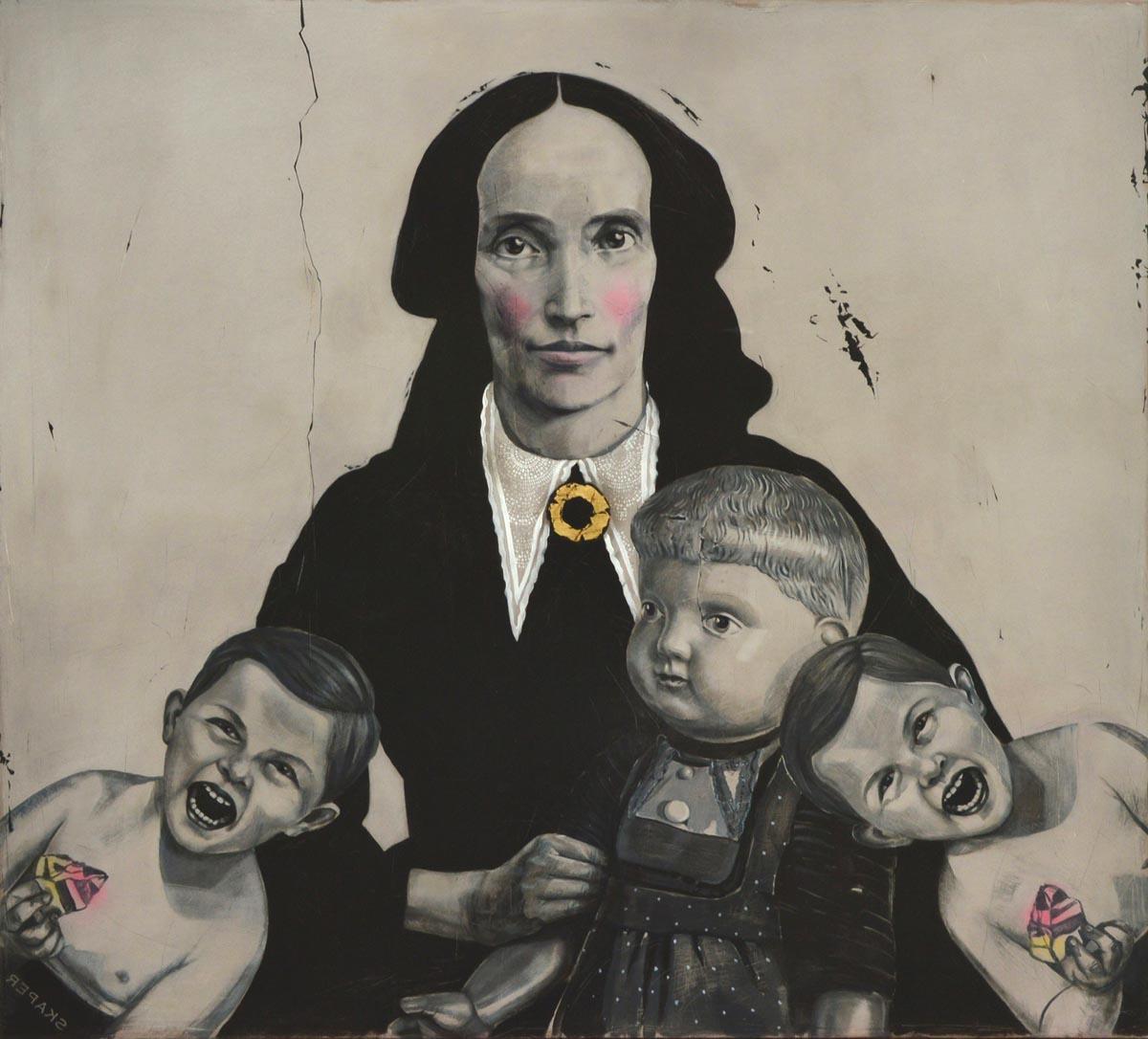 Ewa Skaper obrazy malarstwo cena obraz
