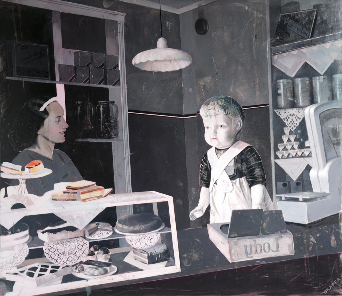 Ewa Skaper obrazy sztuka malarstwo cena obraz