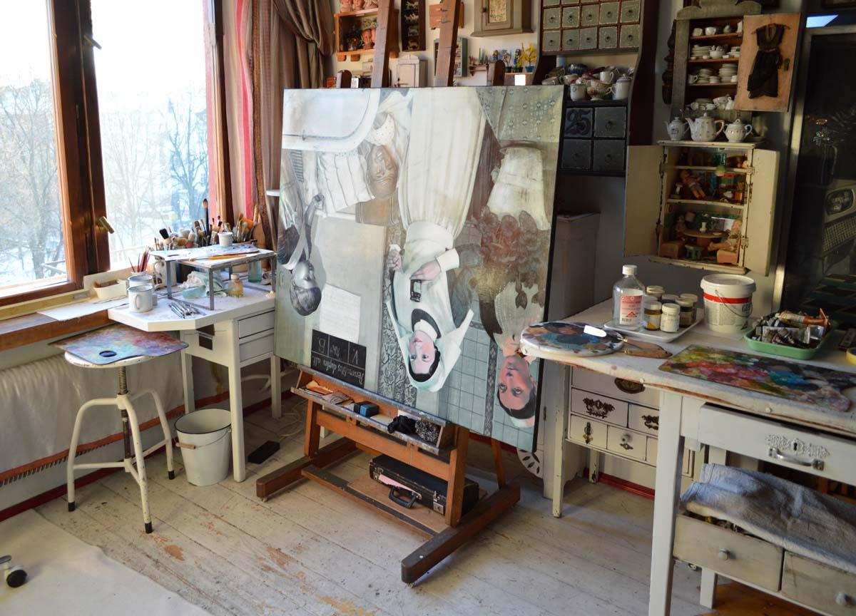 Ewa Skaper obrazy pracownia malowanie