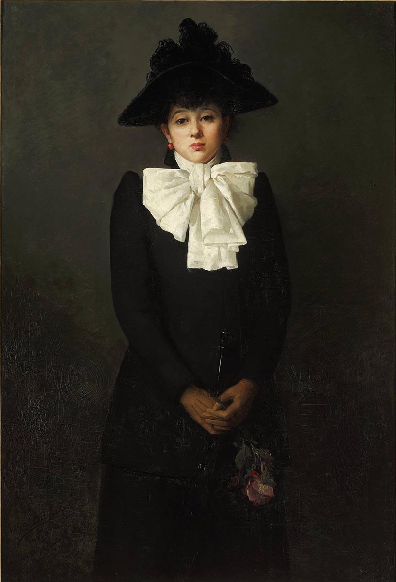 Anna Bilińska-Bohdanowiczowa (1857-1893), obraz, obrazy, Muzeum Narodowe w Warszawie
