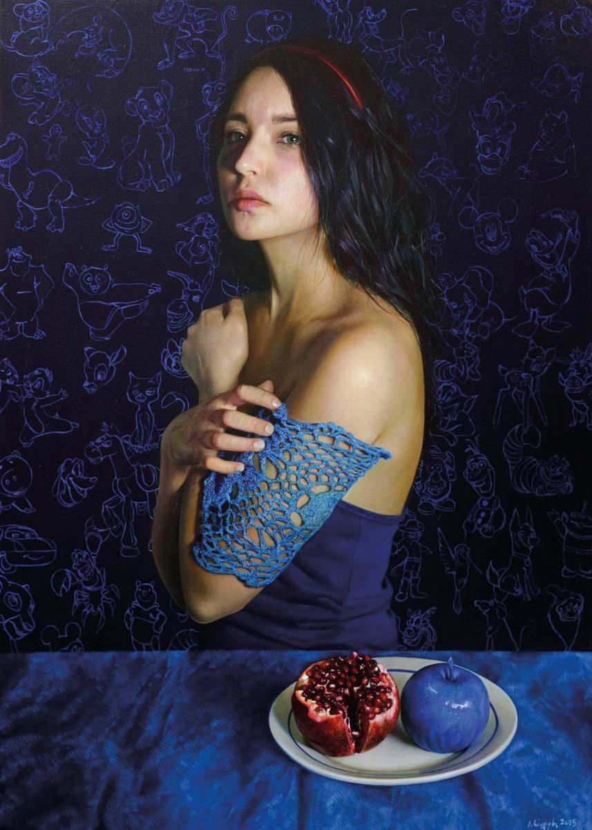 Anna Wypych obrazy, hiperrealizm, hyperrealism,