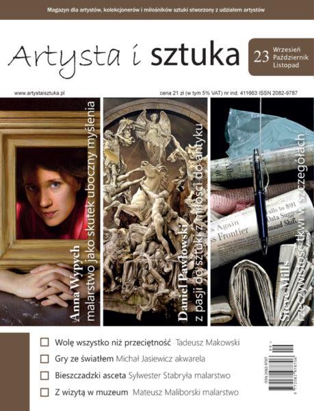 artysta i sztuka, artysta isztuka 23, magazyn o sztuce, kwartalnik, czasopismo o sztuce