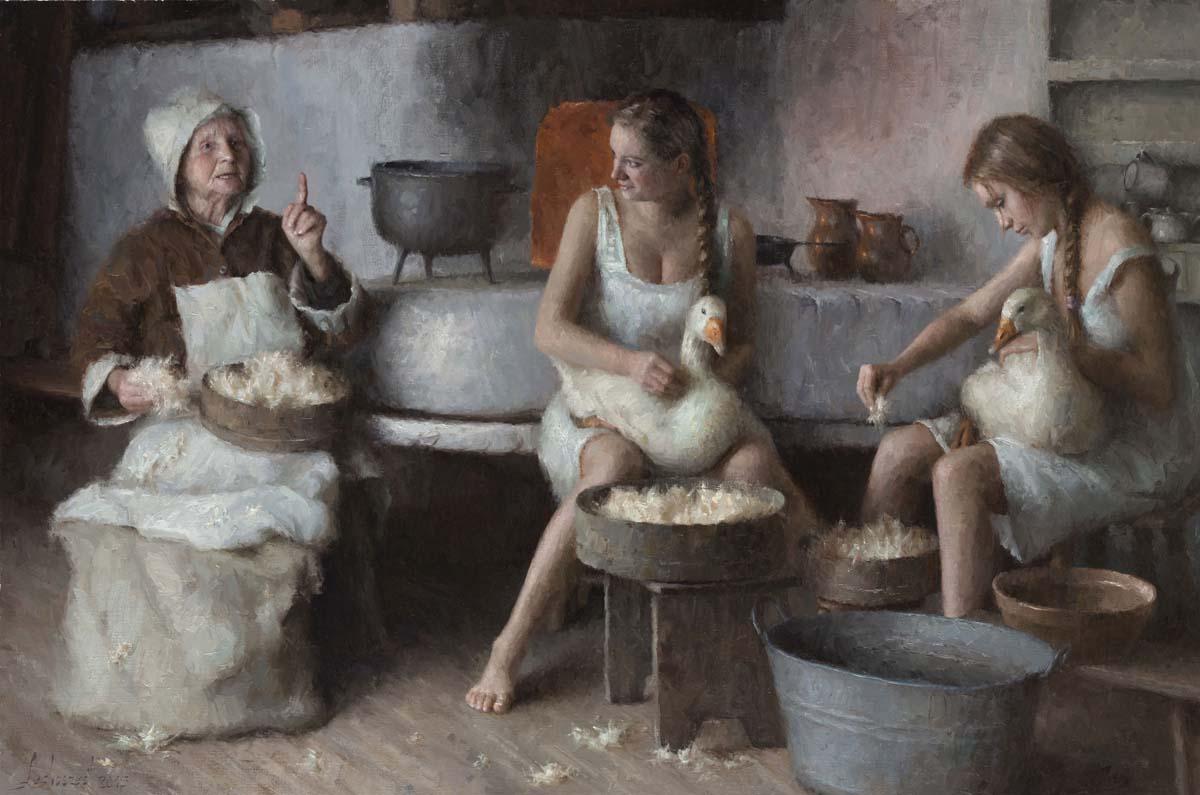 Damian Lechoszest obrazy, Lechoszest galeria, malarstwo, Damian Lechoszest malarz
