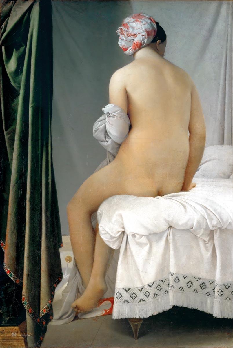 Jean A. D. Ingres, Kąpiąca się, 1808 r.