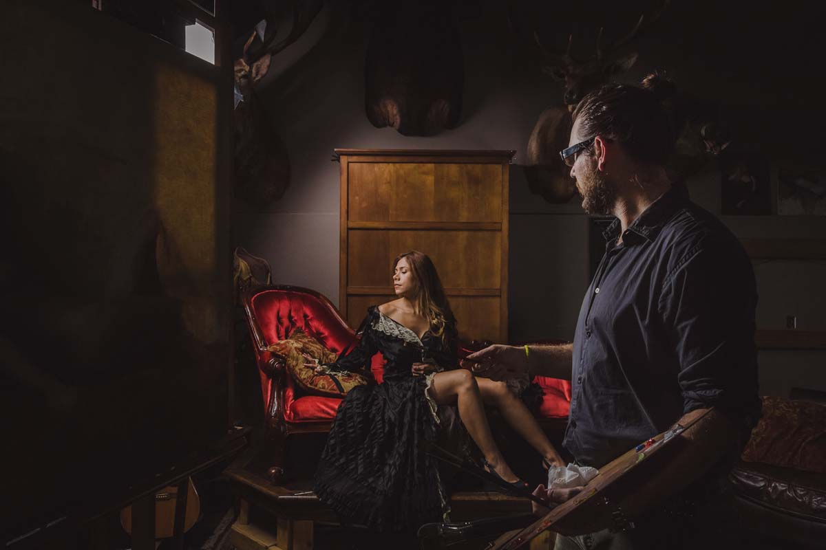 Jeremy Lipking, jeremy lipking obrazy, lipking, lipking malarstwo