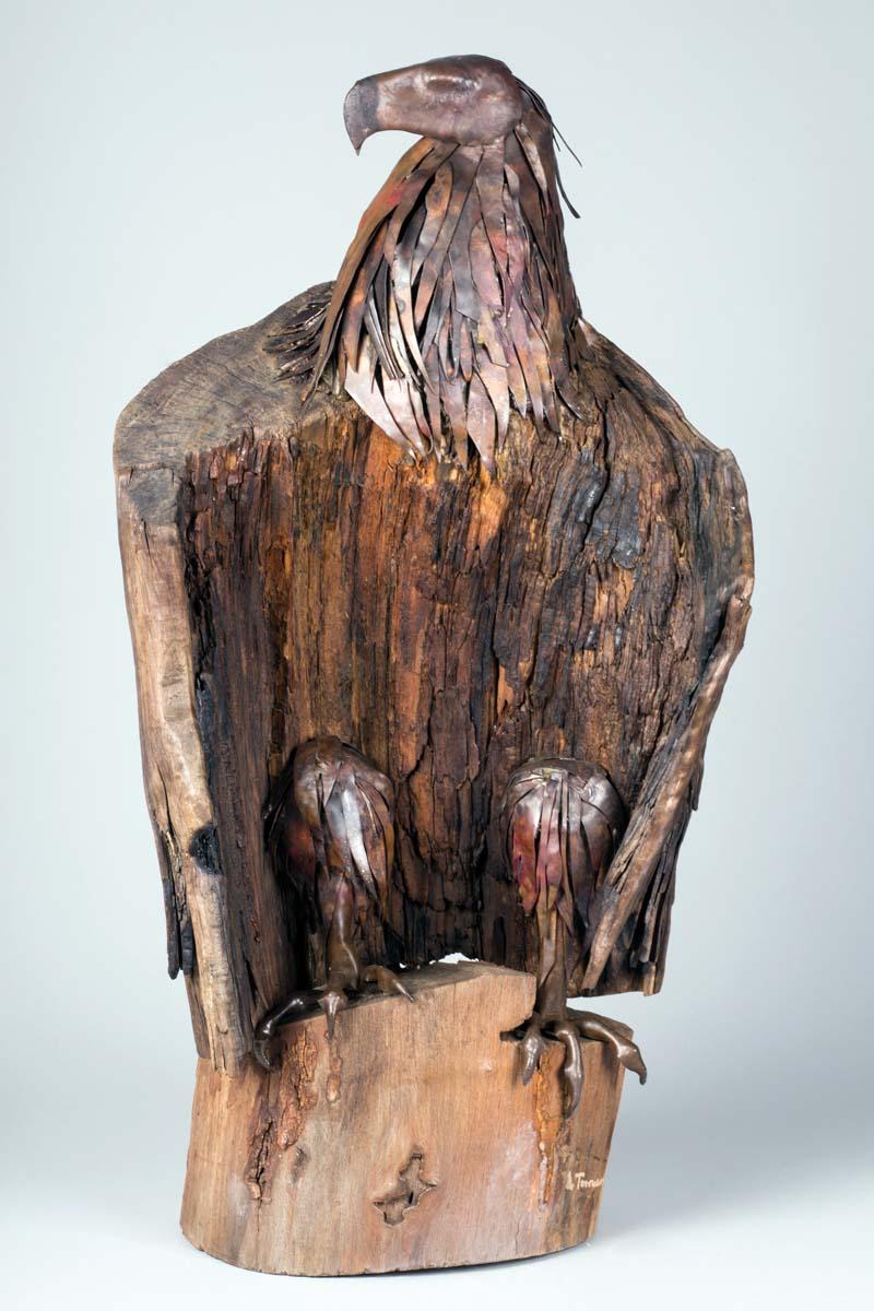 Lubomir Tomaszewski, Majestatyczny orzeł, ©Fundacja Art and Design Lubomir Tomaszewski rzeźba