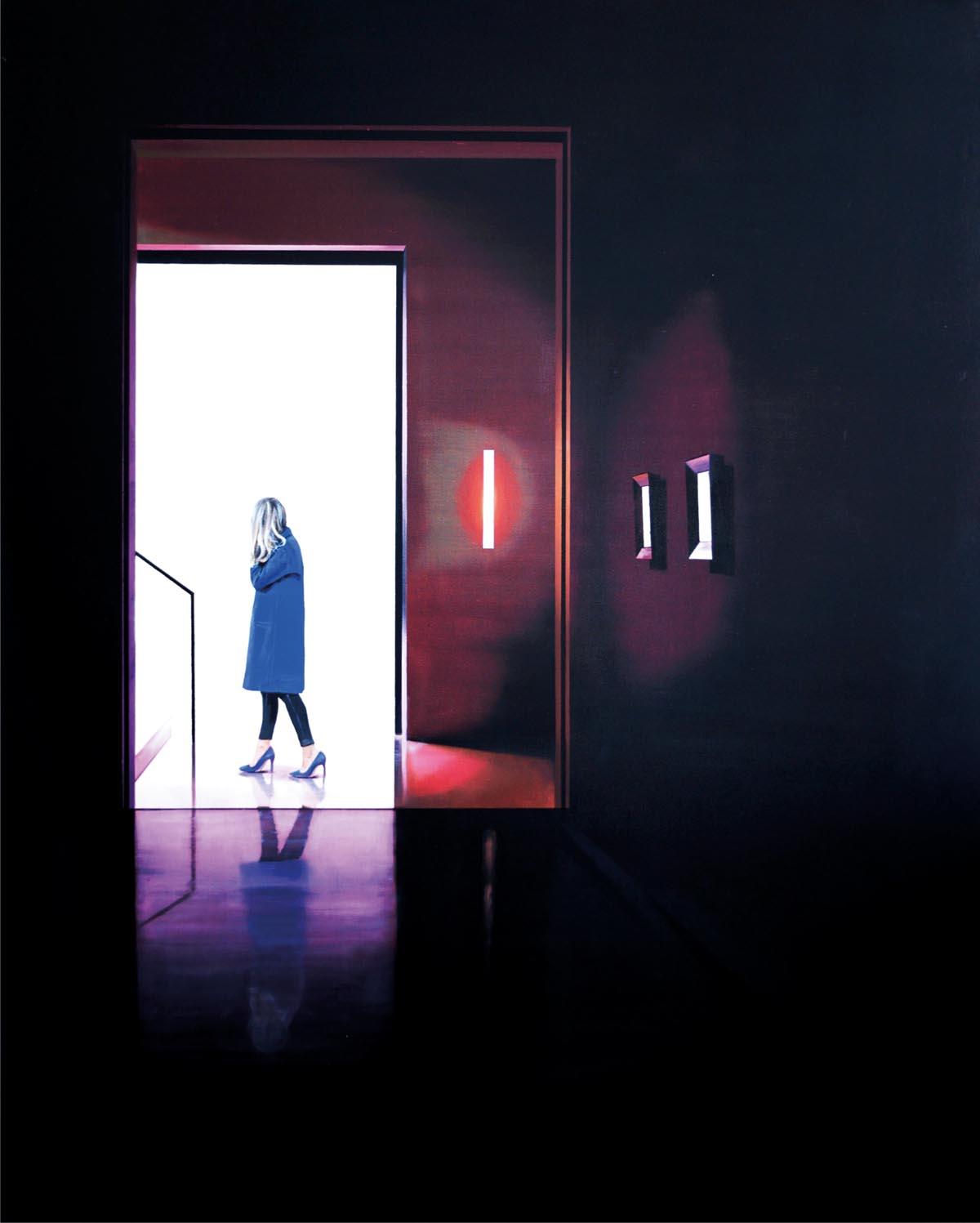 Mateusz Maliborski, Muzeum LXVI, 100x80 cm, olej, płótno, artysta i sztuka 23