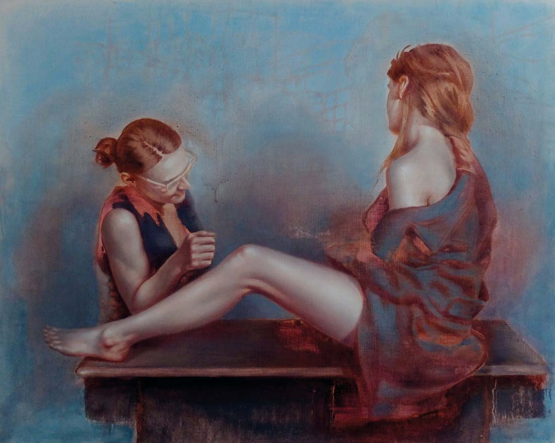 Sylwester Stabryła obrazy, artysta i sztuka, malarstwo