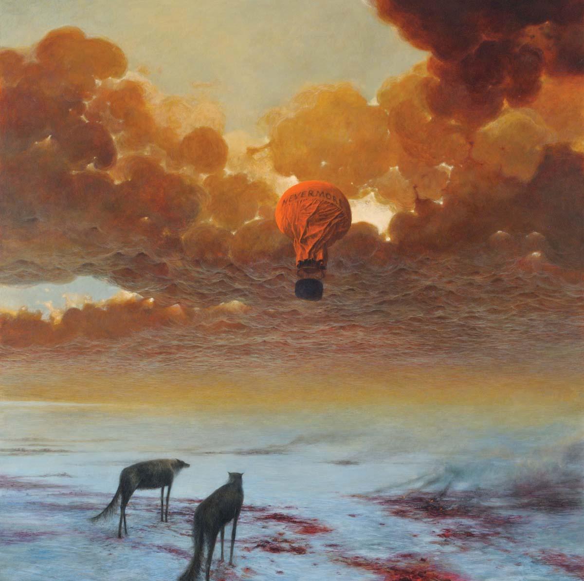 Zdzisław Beksiński obrazy, sanok, muzeum w sanoku, artysta i sztua, surrealizm